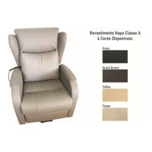 Audaz Ajuda senior sofa reclinavel relax conforto 1 motor